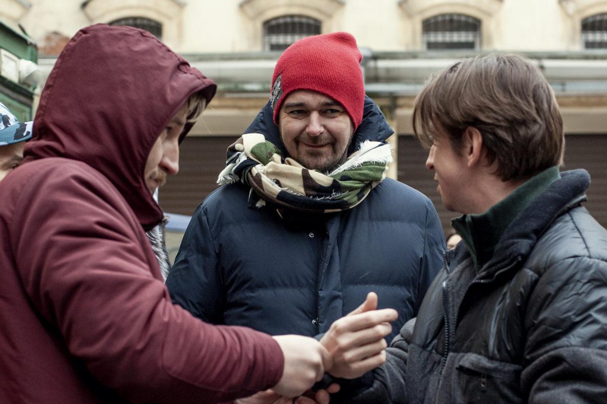Борис Хлебников завершил съемки сериала «Шторм»