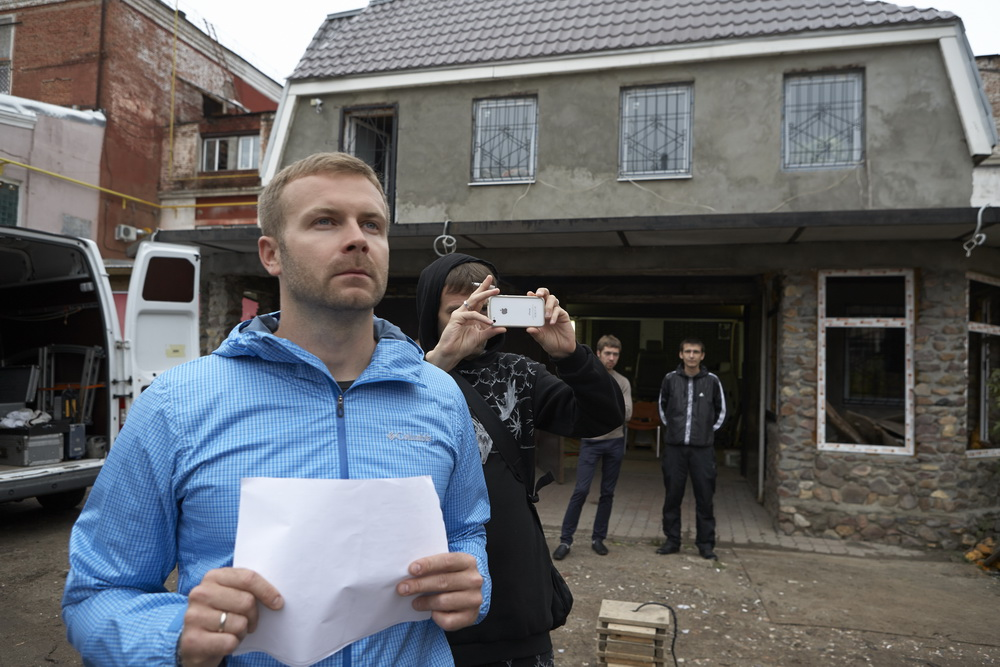 Клим Шипенко готовится к съемкам «Исповеди»